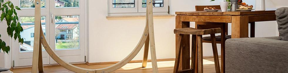 Garten Deals Hängesesselgestell aus Holz